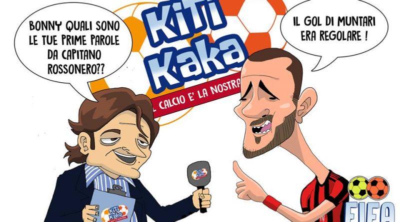 Bonucci e il goal di Muntari di FIFA Comics