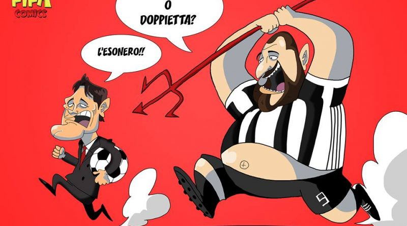 Higuain punisce il Milan di FIFA comics