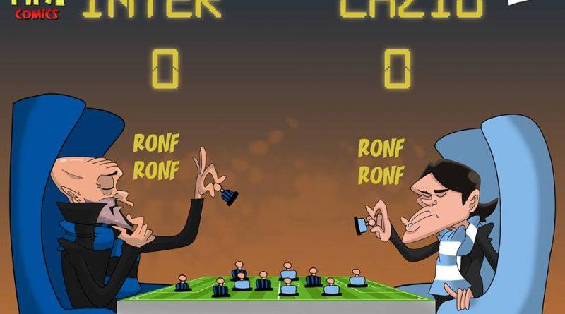 Inter-Lazio 0-0 di FIFA comics