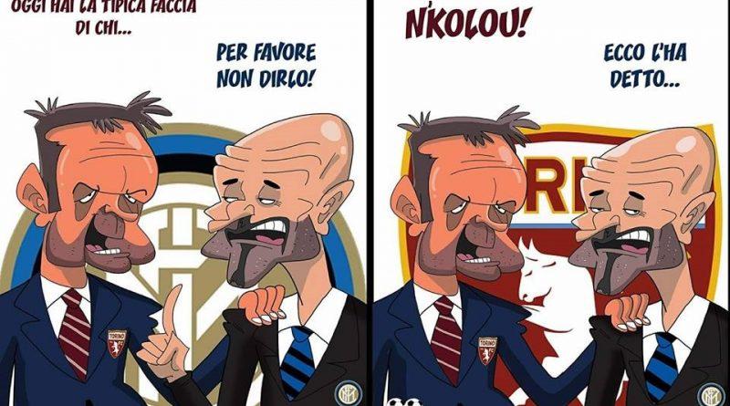 Inter-Torino di FIFA comics