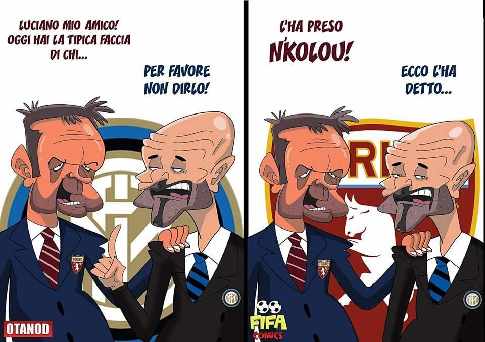 Inter News: Vignette Calcio - Inter-Torino Di FIFA Comics