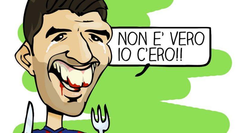 Juventus-Barcellona di Michelangelo Manente