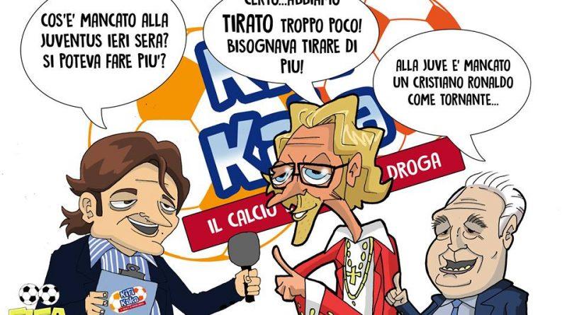 La finale di Champions Juventus-Real Madrid di FIFA comics