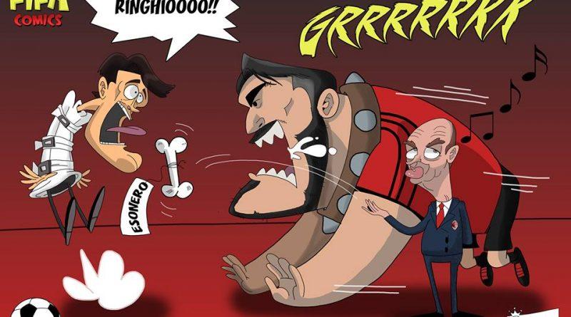 Montella esonerato di FIFA comics
