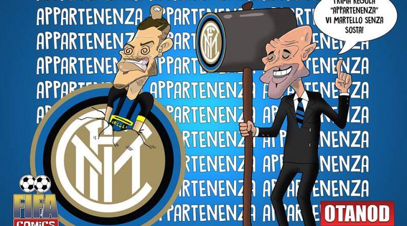 Spalletti martella l'Inter di FIFA comics
