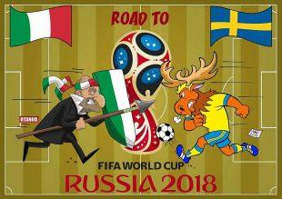 Svezia-Italia di FIFA comics