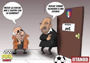 Ventura a rischio di FIFA comics