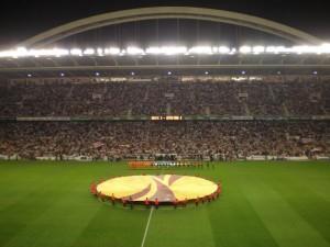 """Il """"San Mamés"""" durante l'Europa League. Fonte immagine: wikipedia, autore: Vivaespaña984"""