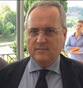 Claudio Lotito Fonte: Alessio Cappellacci