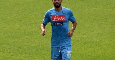 Albiol al Napoli - Fonte immagine: Danilo Rossetti