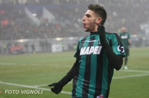 Domenico Berardi. Fonte: sassuolocalcio.it