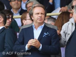 Andrea Della Valle - Fonte ACF Fiorentina