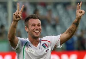 Cassano in Nazionale - Fonte ACF Fiorentina