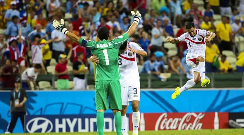 Uruguay-Costa Rica (FIFA World Cup 2014), Giancarlo González, Keylor Navas, Michael Umaña