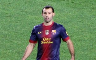 Javier Mascherano - Fonte: Azulino (Wikipedia)