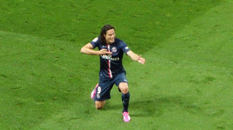 Edinson Cavani al PSG - Fonte: Philippe Agnifili (flickr.com)