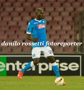 """Koulibaly - Fonte: Pagina Facebook """"Foto Calcio Napoli - Danilo Rossetti"""""""