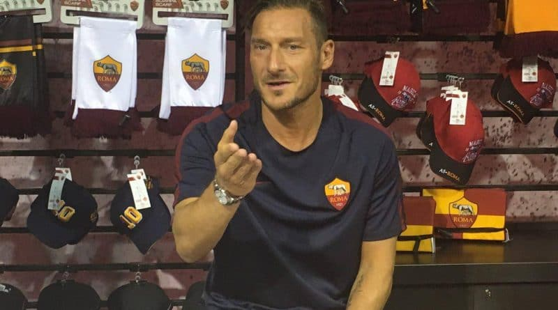 Totti - Fonte immagine: Riccardo Cotumaccio