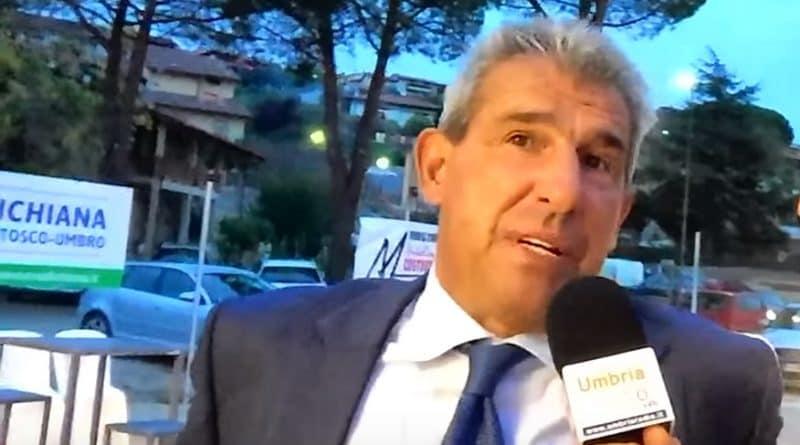 Salvatore Bagni - Fonte immagine: Umbria RadioPG, Youtube