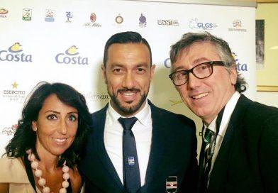 """Quagliarella vince il Premio Gentleman 2017 e pensa a Totti: """"Non deve smettere"""""""