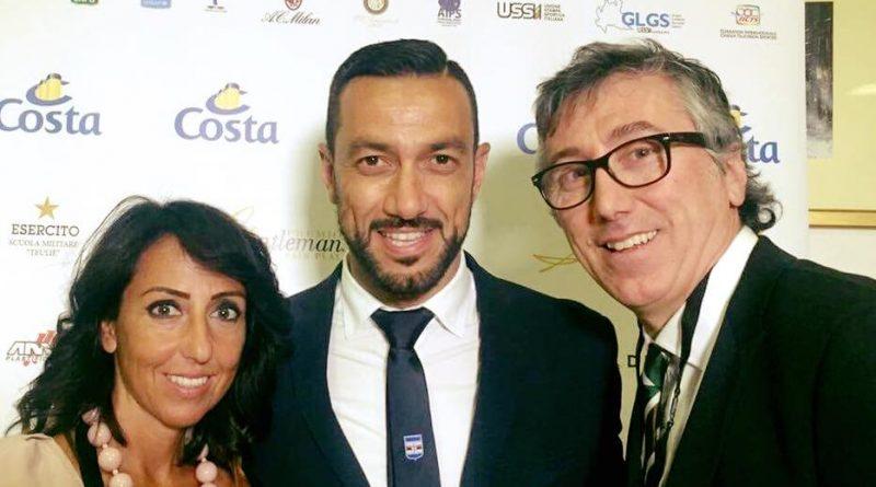 Quagliarella al Premio Gentleman 2017