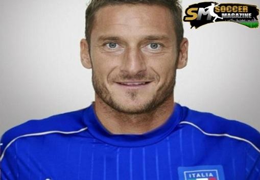 Totti in Nazionale - immagine Facebook
