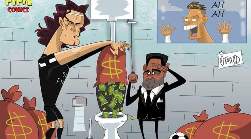 Il PSG esce dalla Champions buttando i soldi di FIFA comics