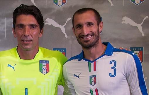 Buffon e Chiellini - Fonte immagine: mynewsdesk.com, PUMA - Wikipedia