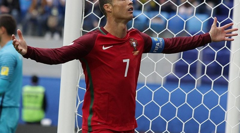 Cristiano Ronaldo nel Portogallo - Fonte: Кирилл Венедиктов, soccer.ru - Wikipedia