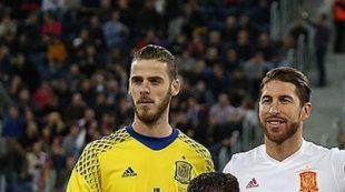 De Gea e Sergio Ramos nella Spagna - Fonte: Кирилл Венедиктов, soccer.ru - Wikipedia
