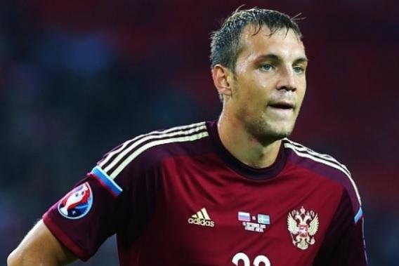 Dzjuba nella Russia - Fonte: Евгений Сойкин, soccer.ru - Wikipedia