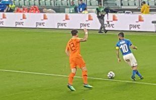 Insigne in Italia-Olanda - Fonte immagine: Fabiola Inter