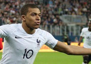 Mbappé nella Francia - Fonte: Кирилл Венедиктов, soccer.ru - Wikipedia