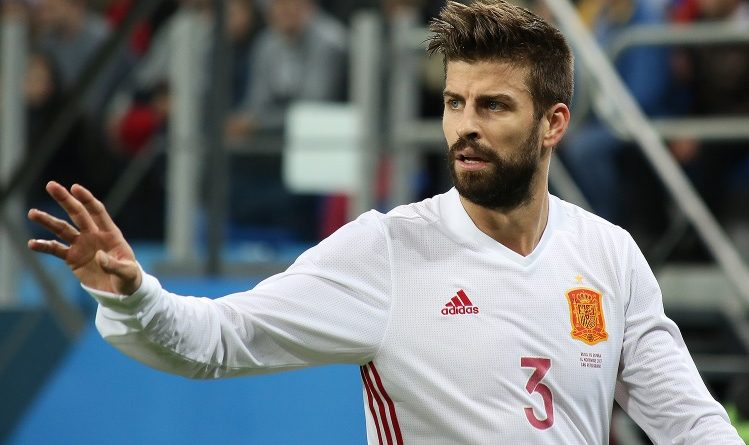 Piqué nella Spagna - Fonte: Кирилл Венедиктов, soccer.ru - Wikipedia