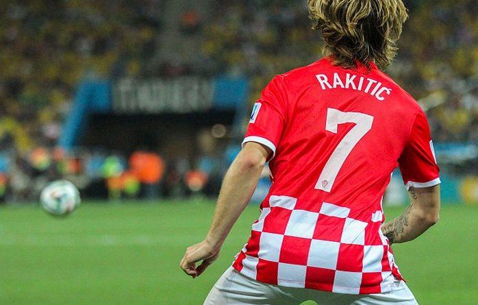 Rakitic nella Croazia - Fonte: copa2014.gov.br, Wikipedia