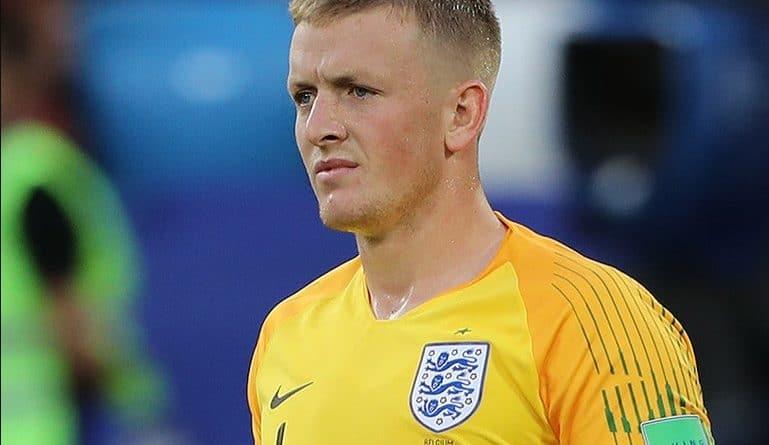 Pickford nell'Inghilterra - Fonte: Кирилл Венедиктов, soccer.ru - Wikipedia