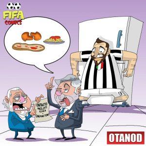 Ancelotti nuovo allenatore del Napoli di FIFA comics