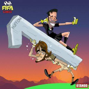 Perin si carica sulle spalle l'eredità di Buffon di FIFA comics