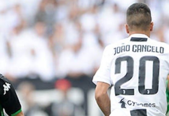 Joao Cancelo nella Juventus - Fonte immagine: sassuolocalcio.it
