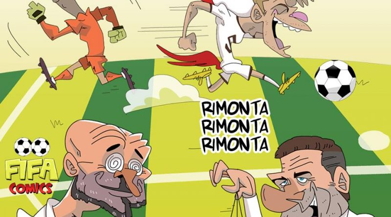 Inter-Torino e HanDAZNovic di FIFA comics