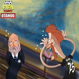 L'urlo di Spalletti di FIFA comics