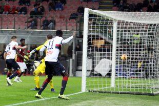 Il gol di Kouamé del Genoa - fonte: genoacfc.it