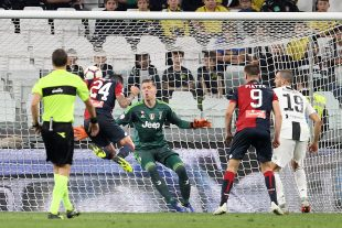 Bessa segna in Juventus-Genoa - Fonte: genoacfc.it