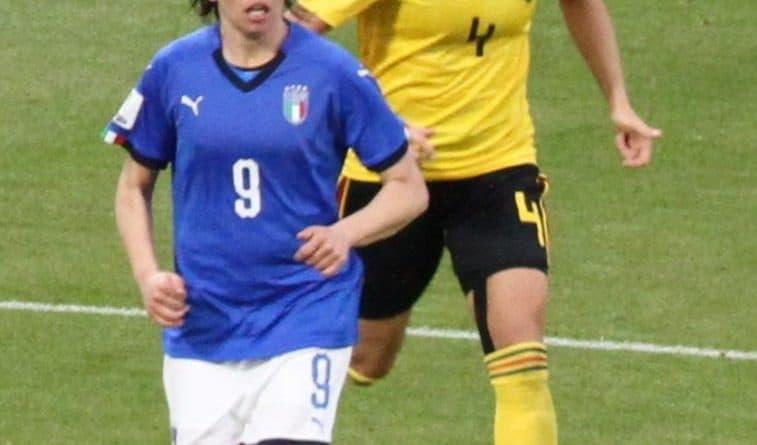 Daniela Sabatino con l'Italia - Fonte: Threecharlie, Wikipedia