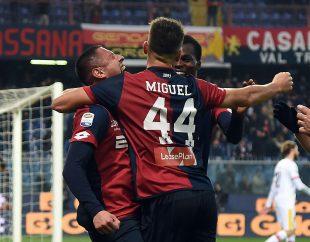Foto: Miguel Veloso nella stagione 2017-2018 con la maglia del Genoa Fonte: genoacfc.it
