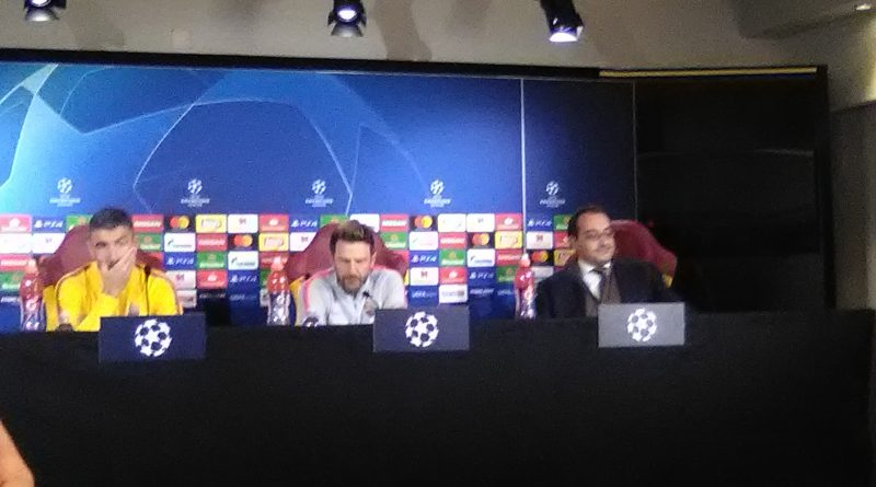 Roma, Di Francesco e Kolarov in conferenza