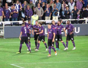La Fiorentina al Franchi - Fonte: Federico Berni