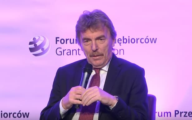 Boniek - Fonte immagine: GrantThorntonPL, Youtube