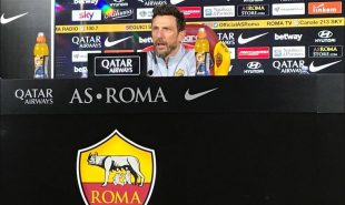 Roma, Di Francesco in conferenza
