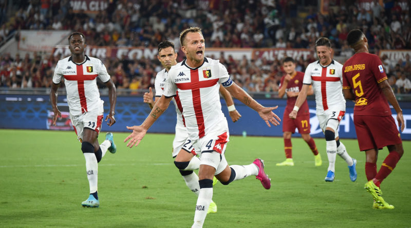 Roma-Genoa, fonte: genoacfc.it Tanopress
